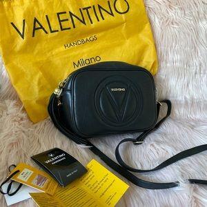 Valentino Mia tassel leather crossbody purse